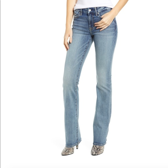 7 For All Mankind Denim - Seven For All Mankind Light Wash Boot Cut Jeans